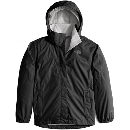 photo: The North Face Girls' Resolve Jacket waterproof jacket