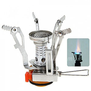 photo:   Mini Outdoor Portable Camping Picnic Stove liquid fuel stove