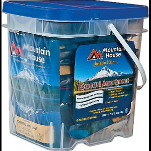 photo: Mountain House Just in Case Essential Bucket food/drink