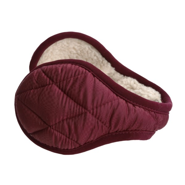 photo: 180s Quilted Ear Warmers winter hat