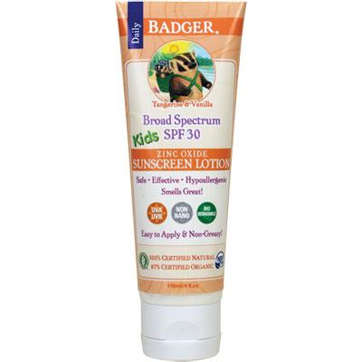 Badger SPF 30 Kids Zinc Oxide
