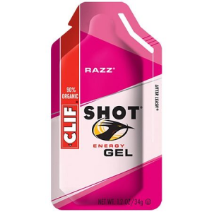 photo of a Clif gel/chew