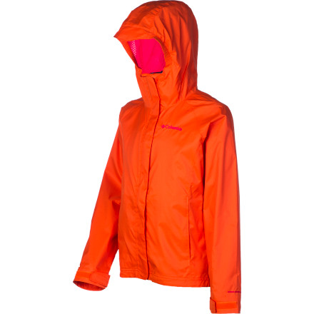photo: Columbia Girls' Adventure Seeker Jacket waterproof jacket