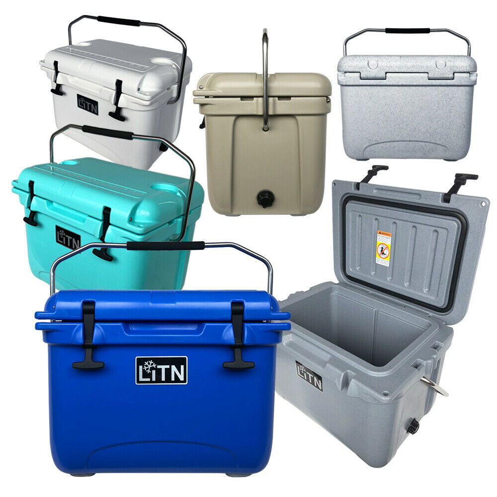 LITN 20QT Ice Chest Box RotoMolded Cooler