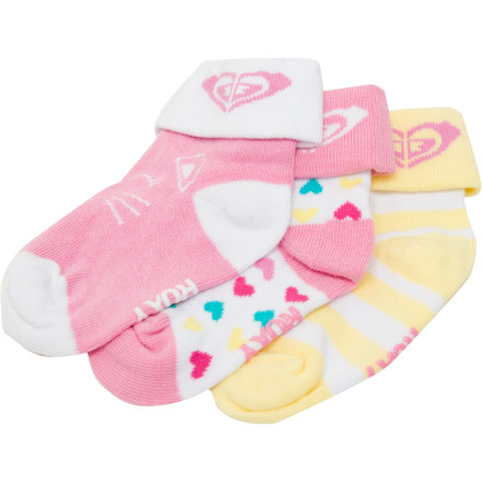Roxy Swing Set Sock - 3-Pack