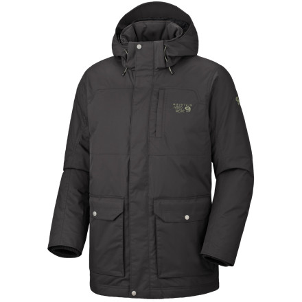 photo: Mountain Hardwear Lacerta Coat down insulated jacket