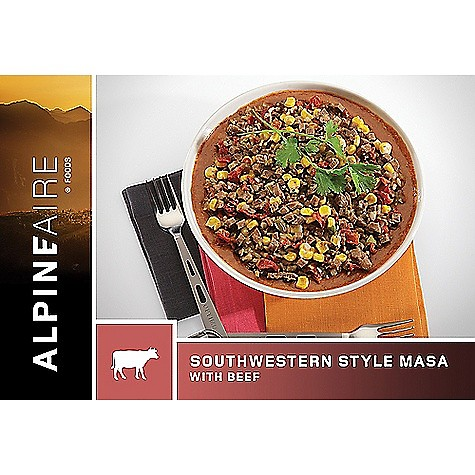 photo: AlpineAire Foods Southwestern Style Masa with Beef meat entrée