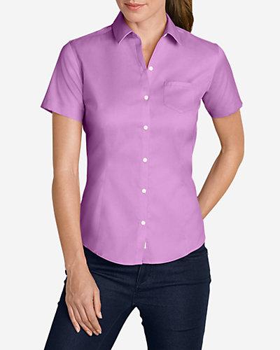 Eddie Bauer Short-Sleeve Wrinkle-Resistant Shirt