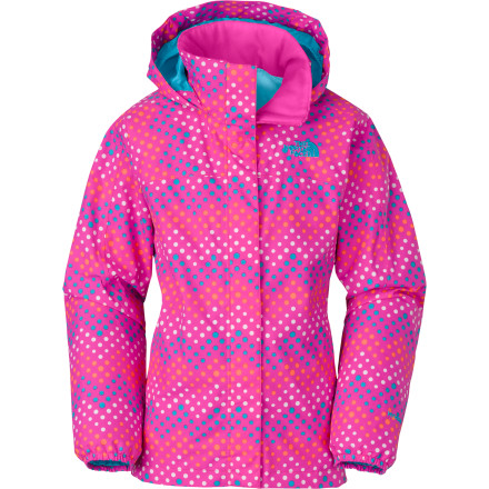 photo: The North Face Dottie Resolve Jacket waterproof jacket