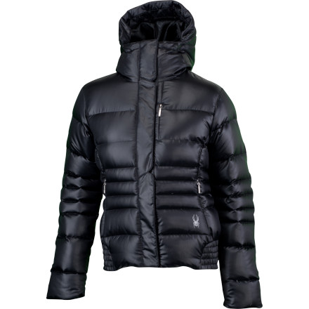 photo: Spyder Bliss Bomber Down Jacket down insulated jacket