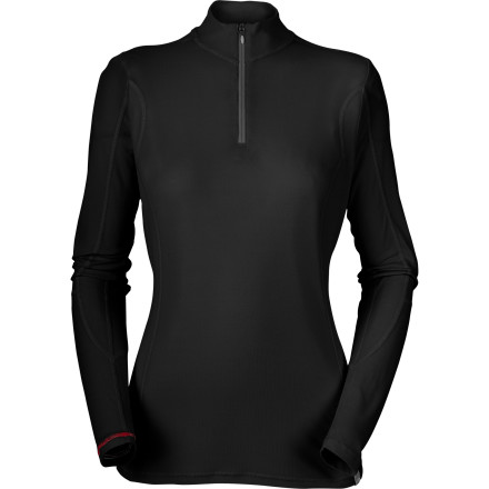 photo: The North Face Women's Light Long Sleeve Zip long sleeve performance top