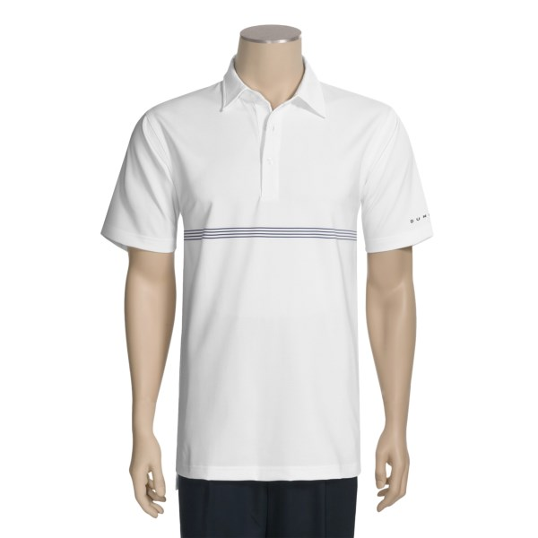 photo: Dunning Spiral Polo Shirt short sleeve performance top
