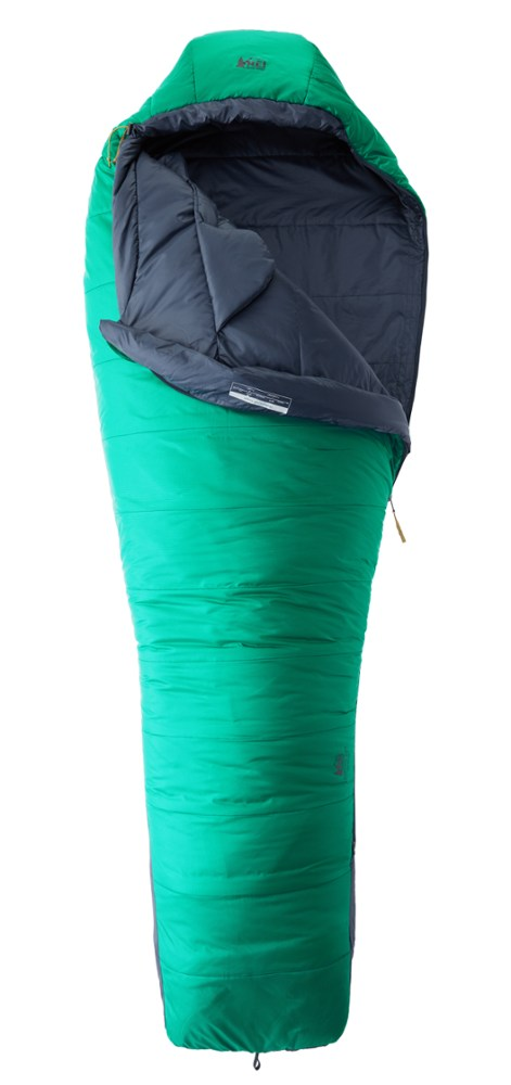 photo: REI Zephyr 20 3-season synthetic sleeping bag