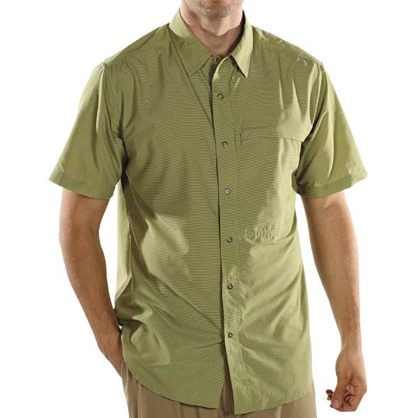photo: ExOfficio Trip'r Stripe Short-Sleeve Shirt hiking shirt