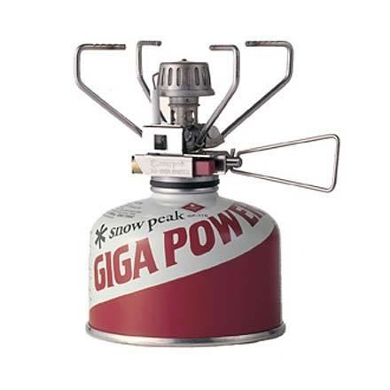 photo: Snow Peak GigaPower Auto compressed fuel canister stove