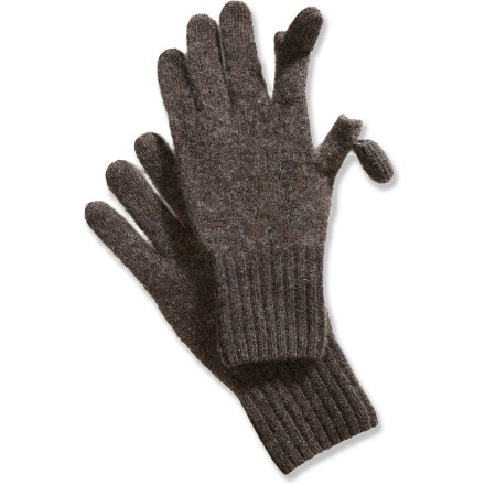 photo of a Toad&Co fleece glove/mitten