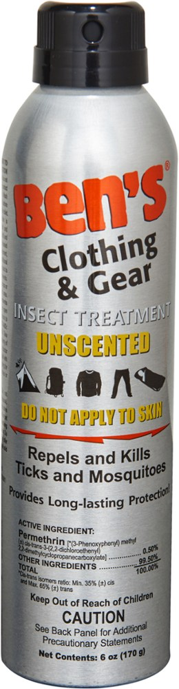 Tender Ben's Clothing & Gear Repellent