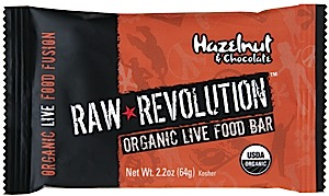 photo: Raw Indulgence Raw Revolution Organic Hazelnut & Chocolate bar