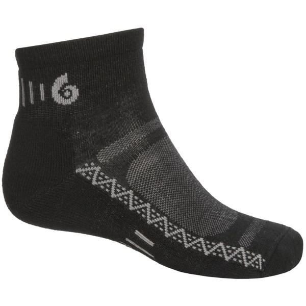 photo: Point6 Active Light Mini Crew running sock