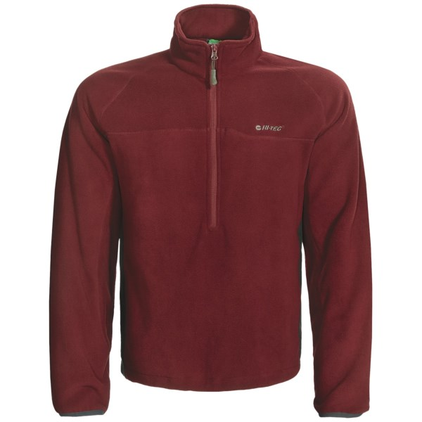 photo: Hi-Tec Antelope Flats Fleece Pullover - Zip Neck fleece top