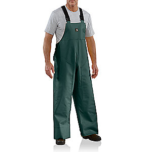 photo: Carhartt PVC Rain Bib waterproof pant