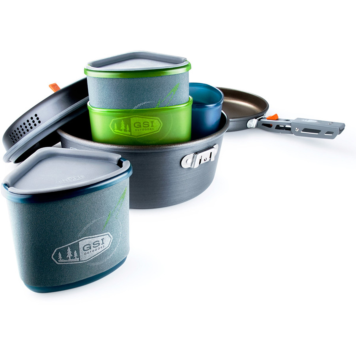 photo: GSI Outdoors Pinnacle Backpacker Cookset pot/pan
