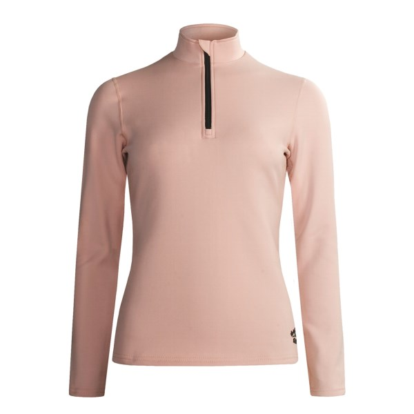 photo: Hot Chillys Micro-Elite Midweight Zip Turtleneck base layer top