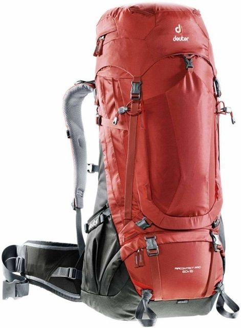 photo: Deuter AirContact Pro 60 + 10 weekend pack (50-69l)