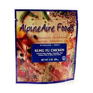photo: AlpineAire Foods Kung Fu Chicken meat entrée