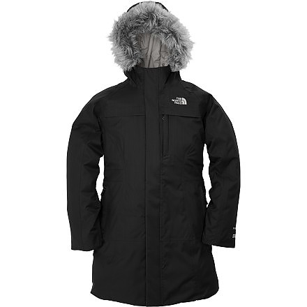 photo: The North Face Girls' Arctic Parka down insulated jacket