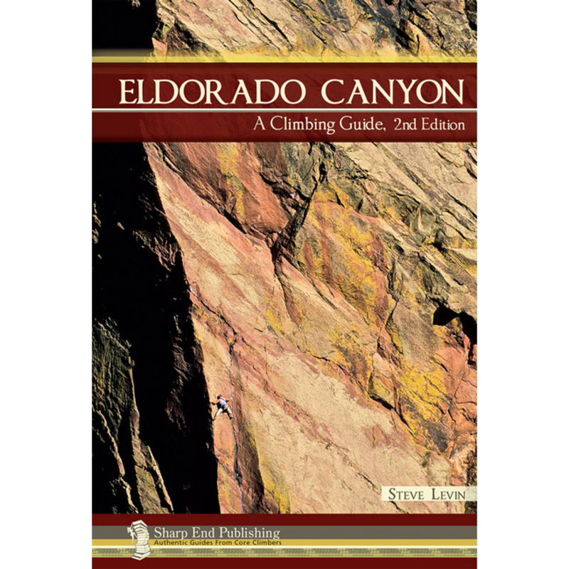 photo: Sharp End Publishing Eldorado Canyon: A Climbing Guide us mountain states guidebook
