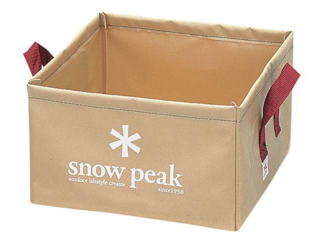 photo: Snow Peak Pack Bucket bucket/sink