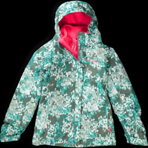 photo: Columbia Girls' Bugaboo Interchange Jacket component (3-in-1) jacket