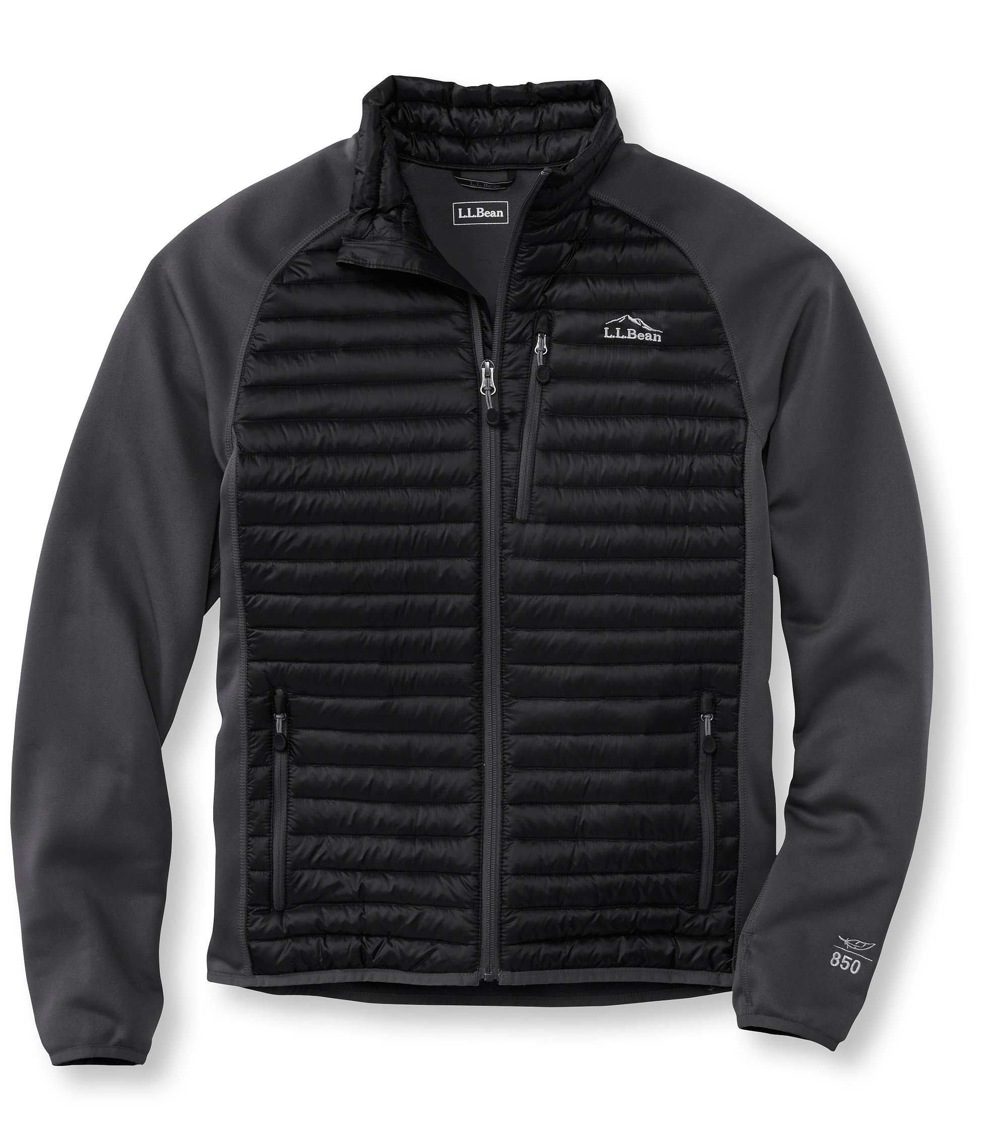 photo: L.L.Bean Ultralight 850 Down Fuse Jacket down insulated jacket