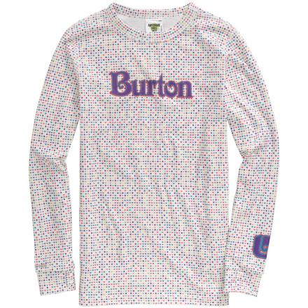 photo: Burton Girls' Heartbreak Top base layer top