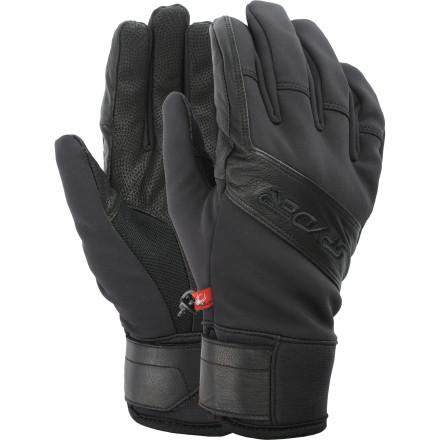 photo: Spyder Spring Glove soft shell glove/mitten