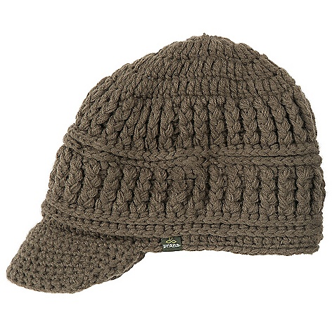 photo: prAna Brett Visor Beanie winter hat