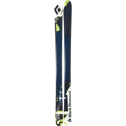 photo: Black Diamond Kilowatt alpine touring/telemark ski