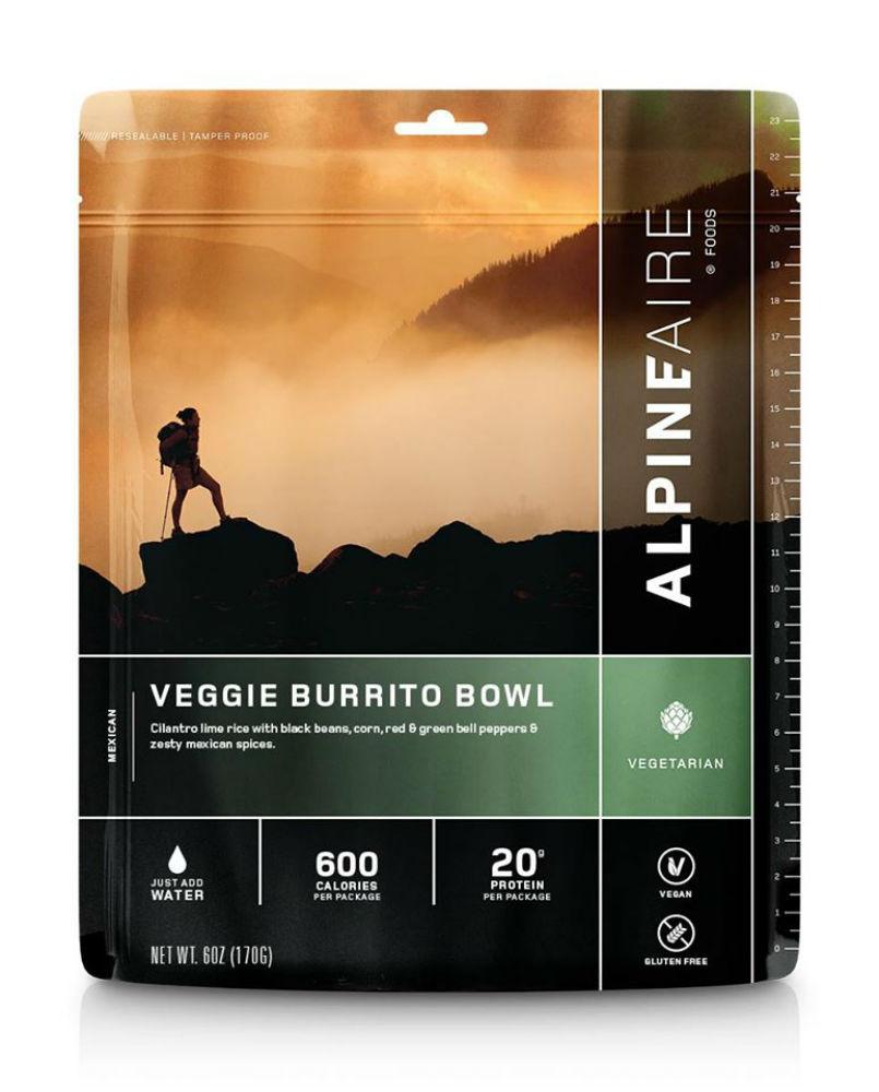 photo: AlpineAire Foods Veggie Burrito Bowl vegetarian entrée
