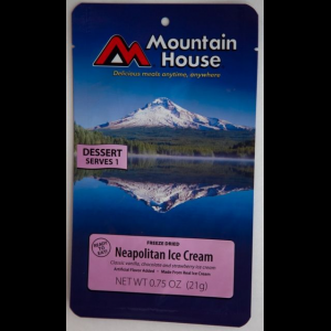 Mountain House Neapolitan Ice Cream Bar