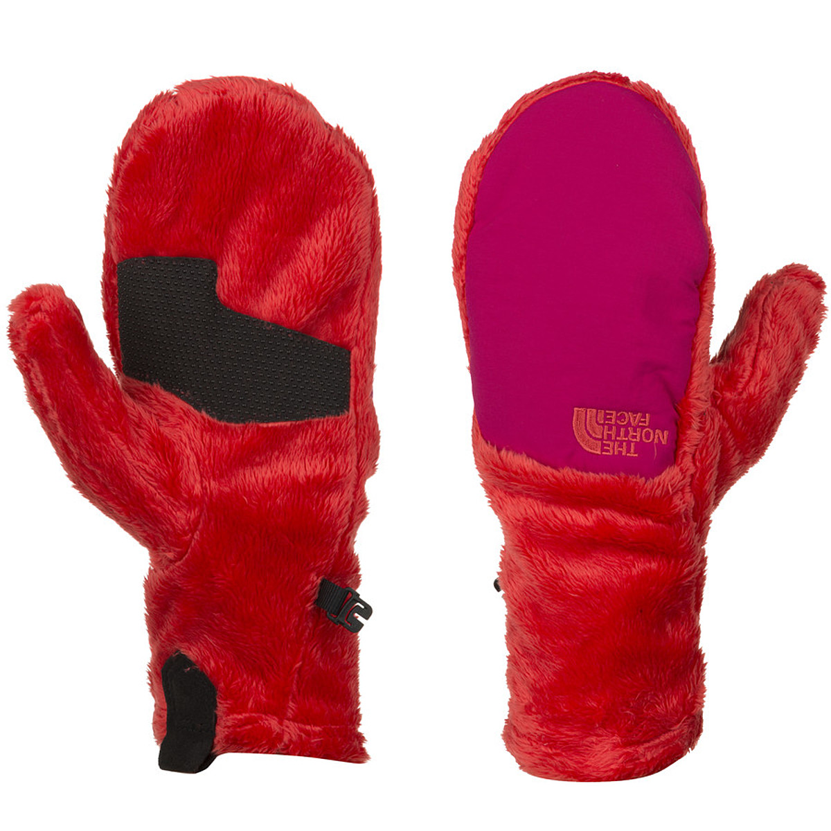 photo: The North Face Women's Denali Thermal Mitt fleece glove/mitten
