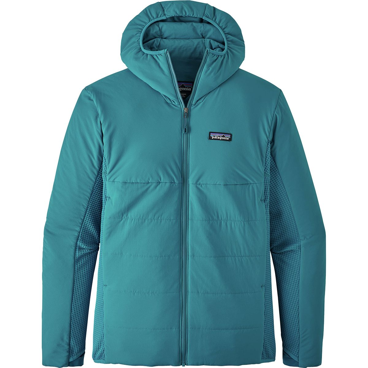photo: Patagonia Men's Nano-Air Light Hybrid Hoody synthetic insulated jacket