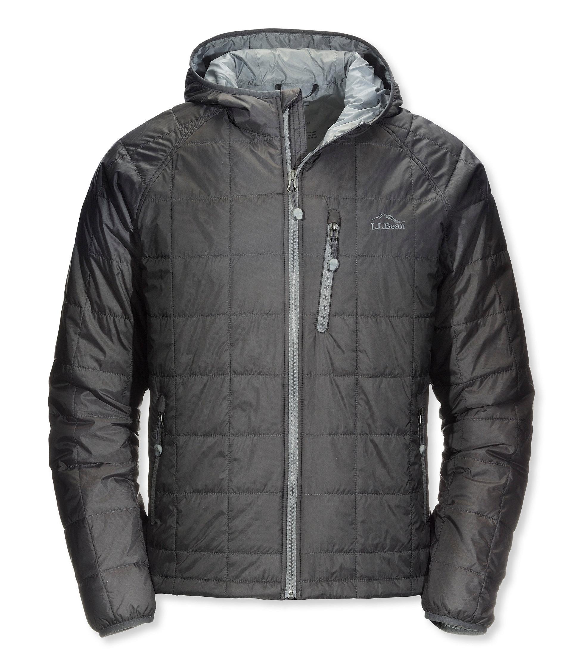 L.L.Bean Ascent Packaway Hooded Jacket