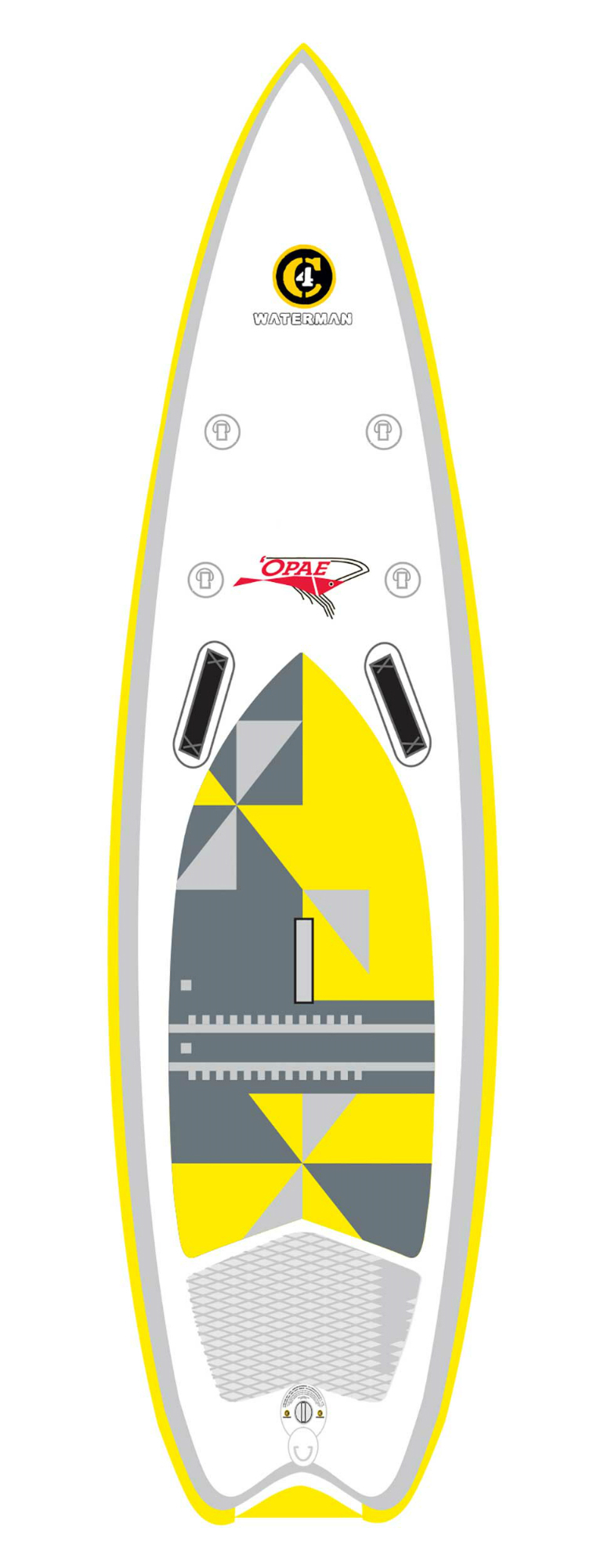 photo of a C4 Waterman inflatable paddle board