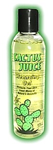 photo: Cactus Juice Cleansing Gel soap/cleanser