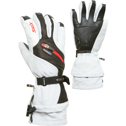 photo: Swix Sovereign Leather Glove insulated glove/mitten
