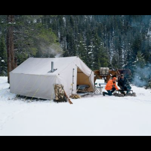 Cabela's Outfitter Wall Tent And Frame Combo by Montana Canvas