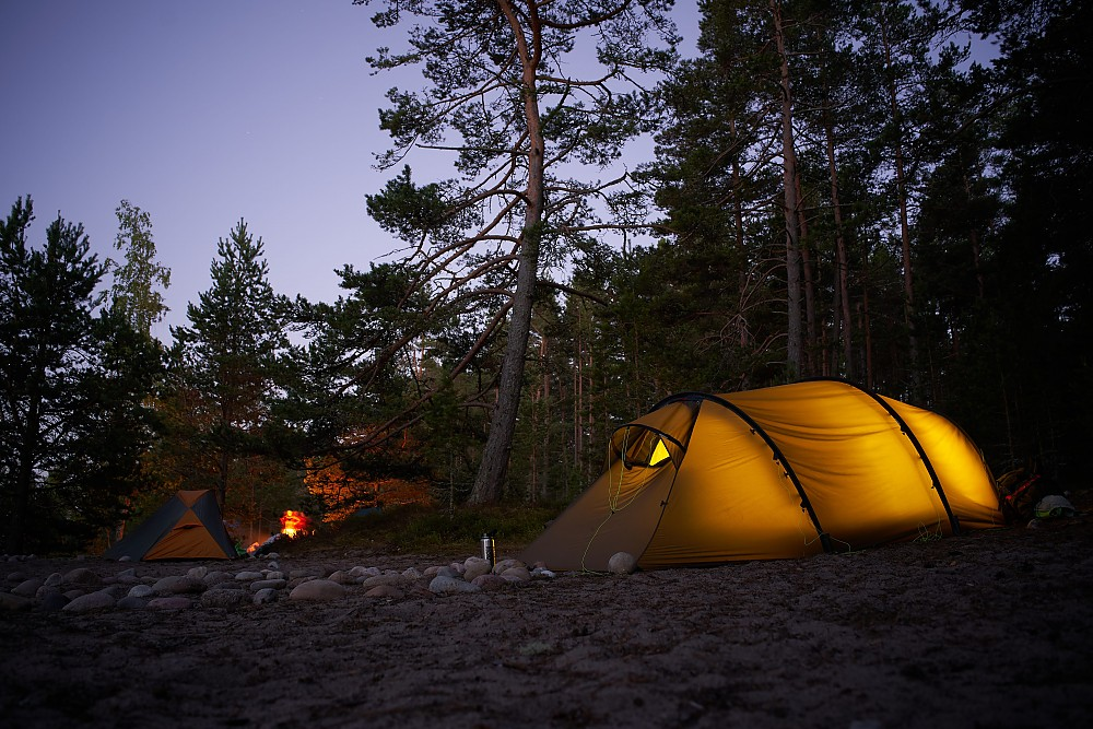 photo: Hilleberg Kaitum 3 four-season tent
