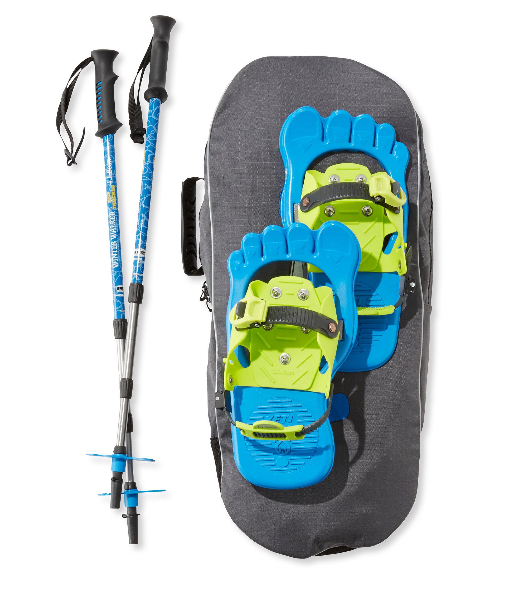 photo: L.L.Bean Yeti Tracker Snowshoe recreational snowshoe