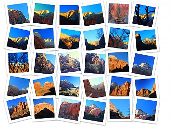 Photo-collage-of-Zion-sunset-Dec-22-2013